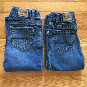 Children's Place two pairs of 2T toddler jeans